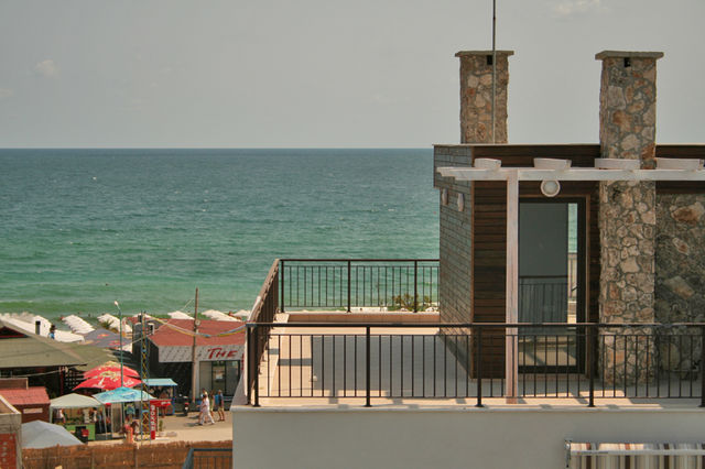 Flagman hotel - View from room